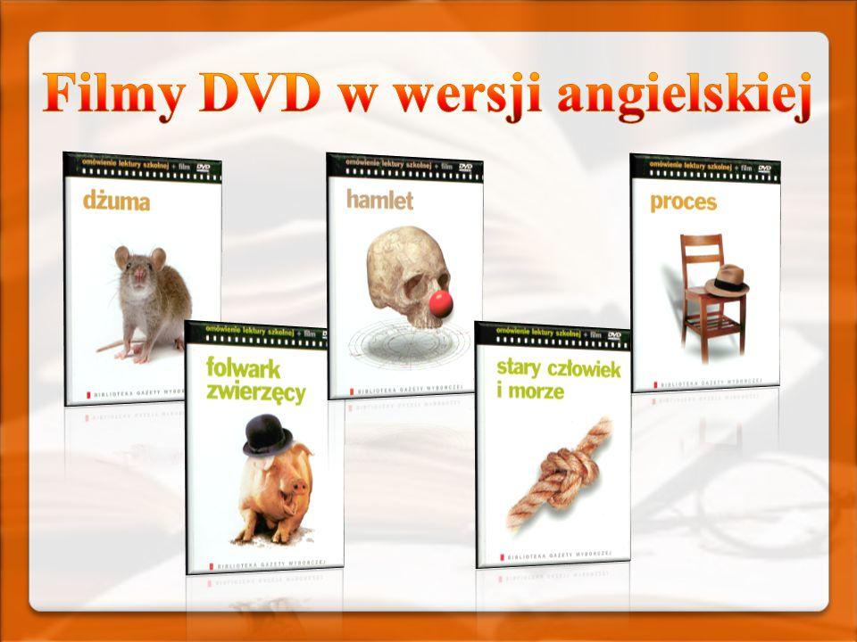 Filmy DVD w wersji angielskiej