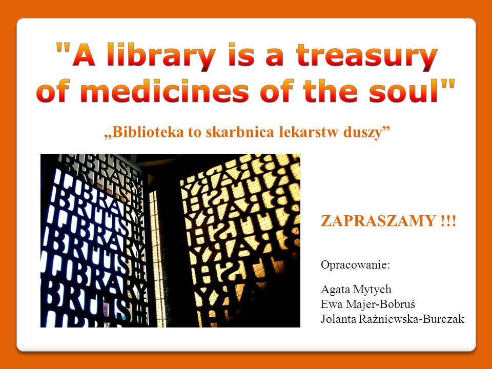 of medicines of the soul