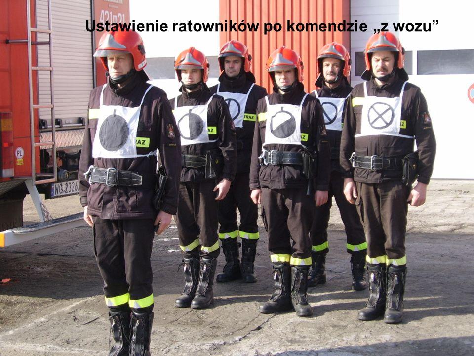 """Ustawienie ratowników po komendzie """"z wozu"""