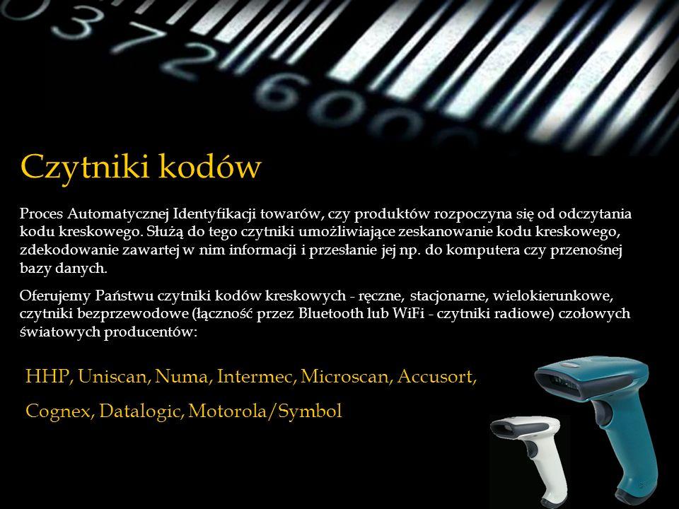 Czytniki kodów HHP, Uniscan, Numa, Intermec, Microscan, Accusort,