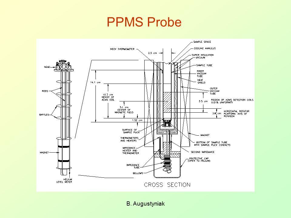 PPMS Probe B. Augustyniak
