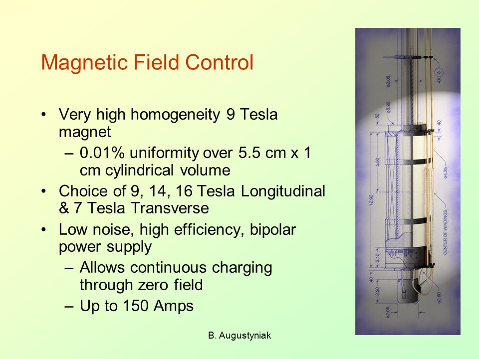 Magnetic Field Control