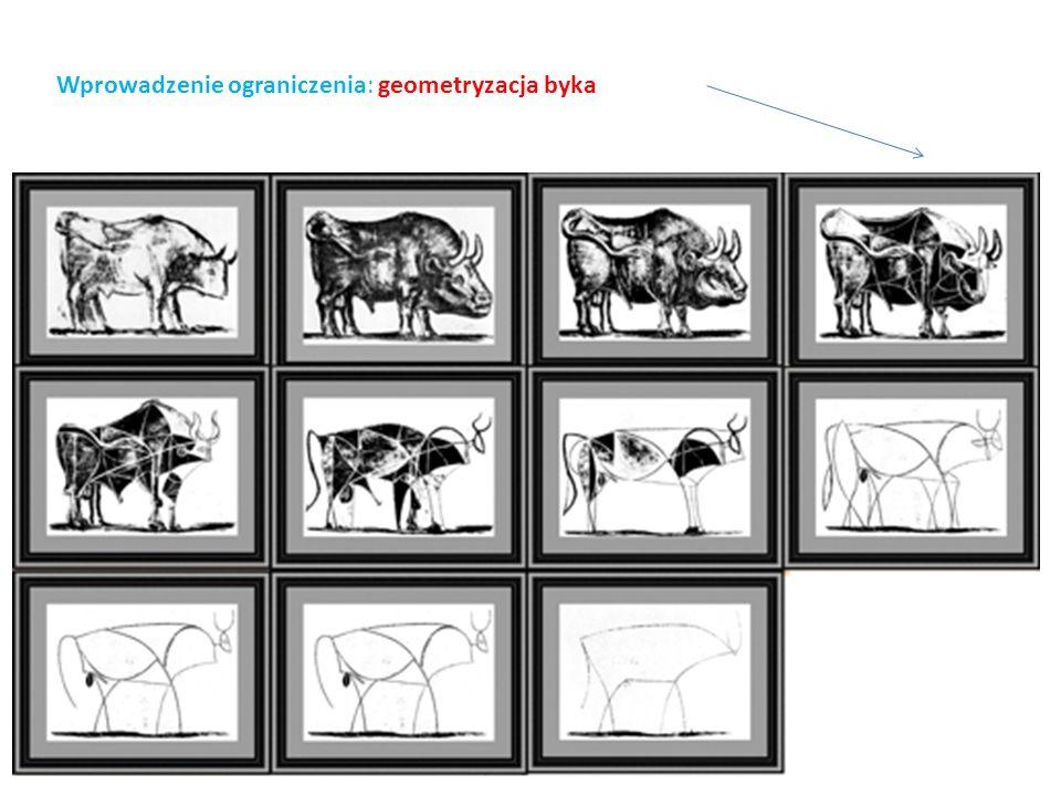 Wprowadzenie ograniczenia: geometryzacja byka