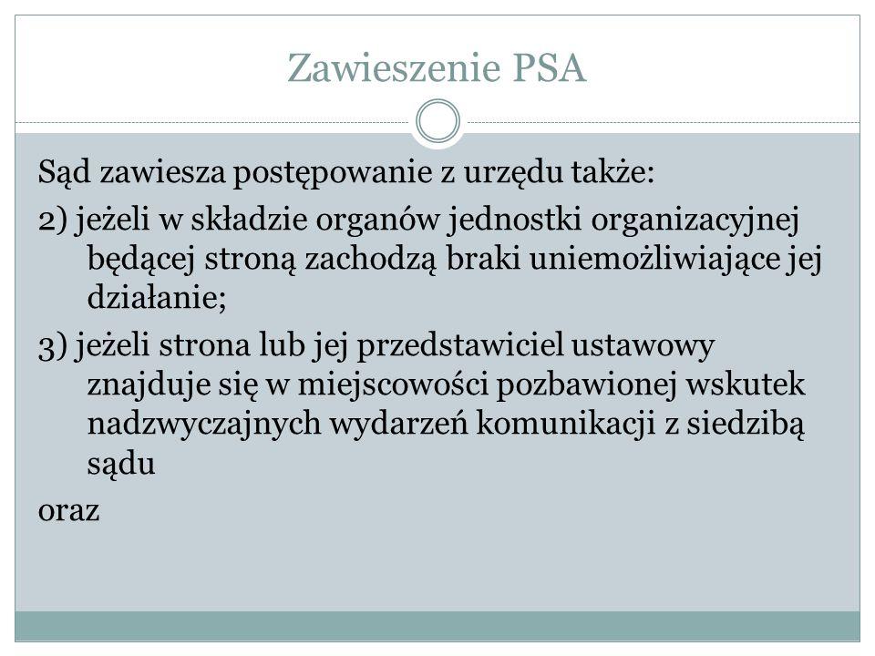 Zawieszenie PSA