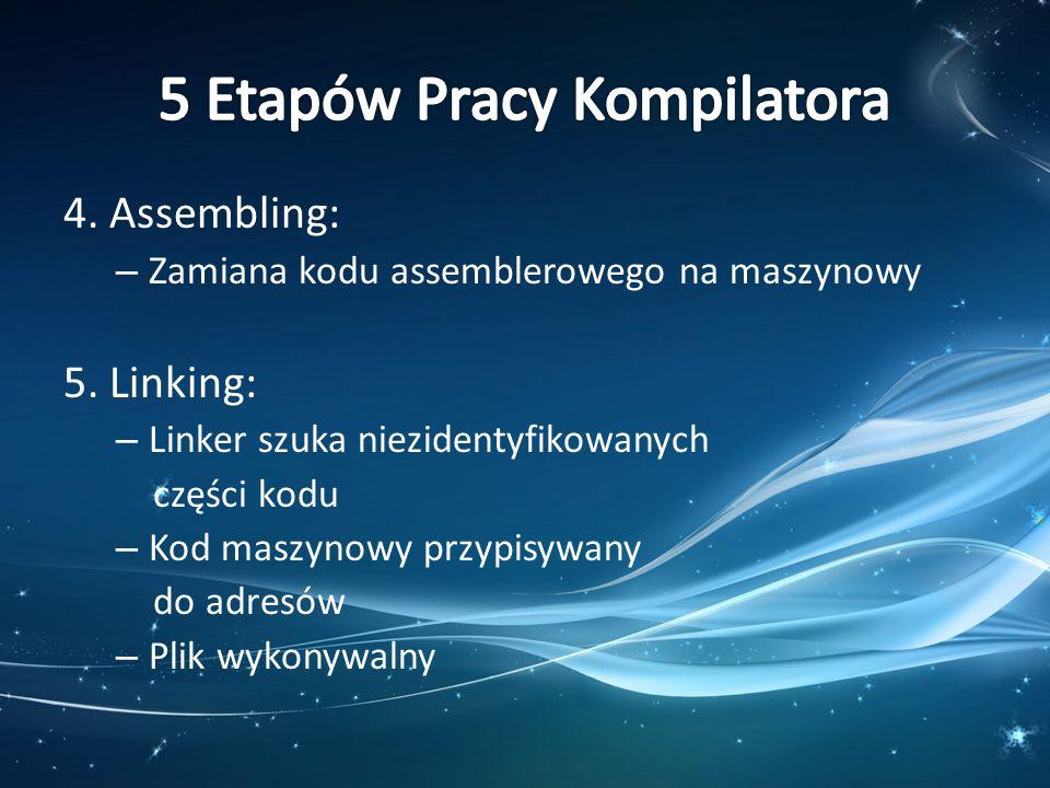 5 Etapów Pracy Kompilatora