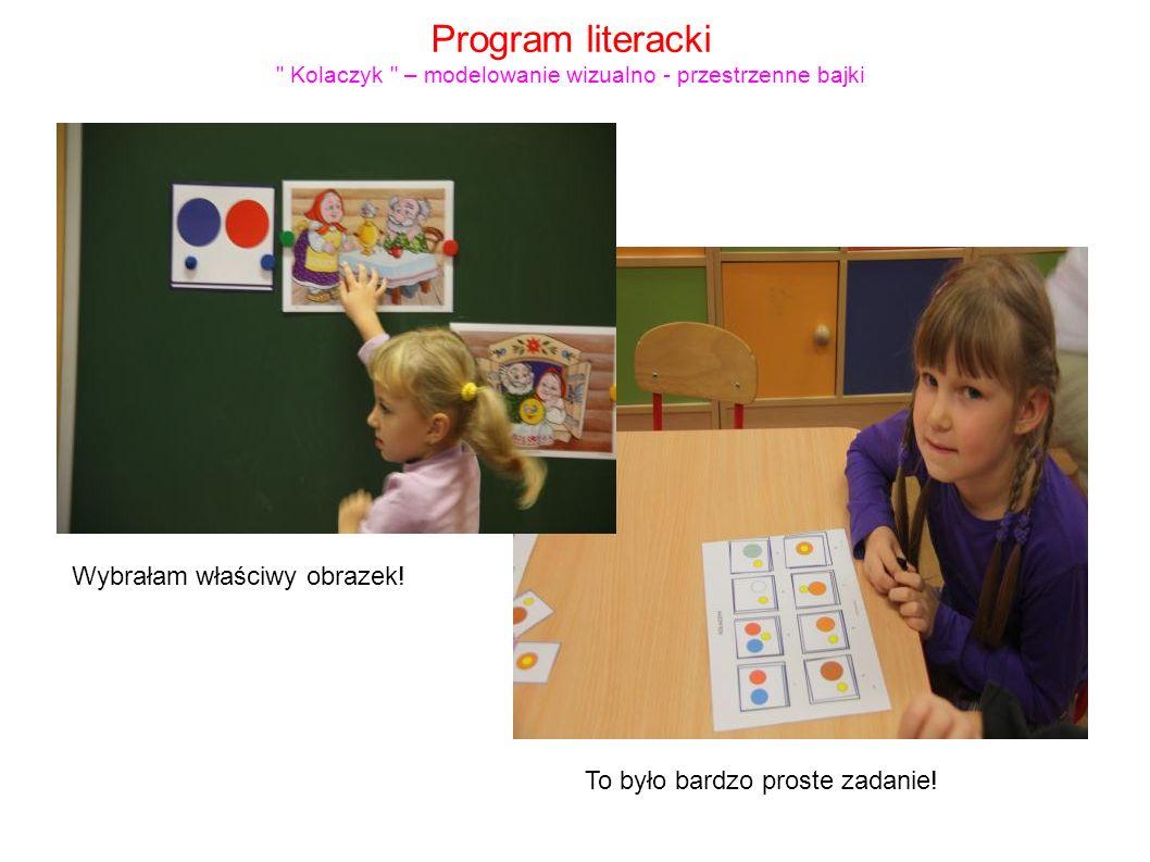 Program literacki Kolaczyk – modelowanie wizualno - przestrzenne bajki