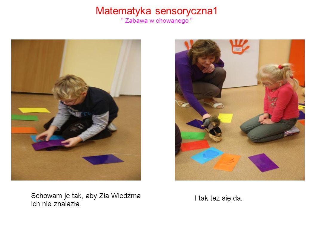 Matematyka sensoryczna1 Zabawa w chowanego