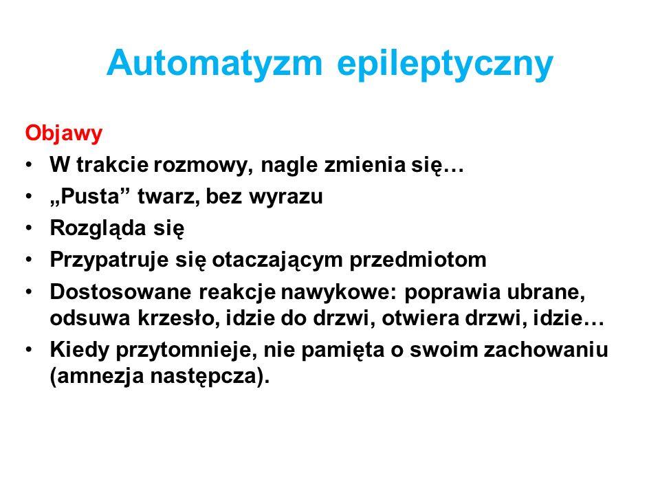 Automatyzm epileptyczny