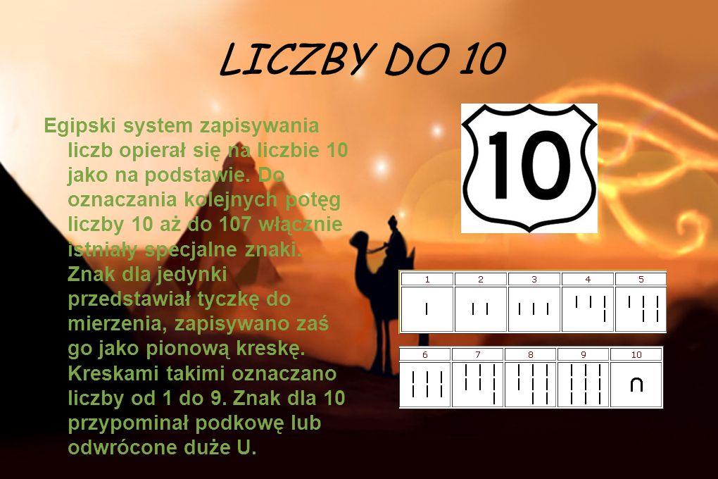LICZBY DO 10