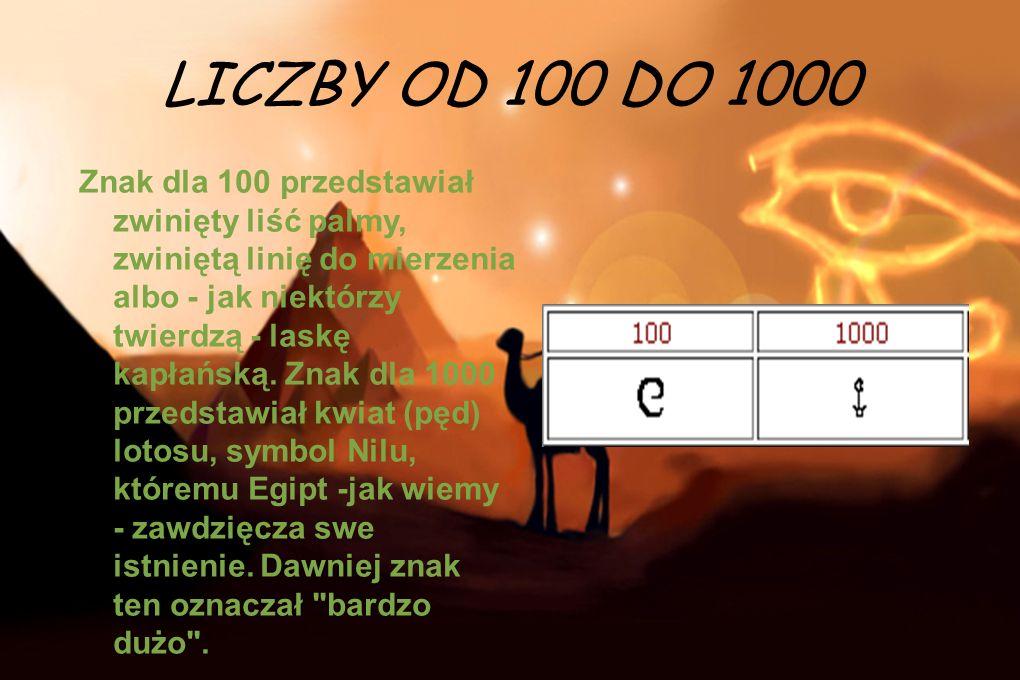 LICZBY OD 100 DO 1000