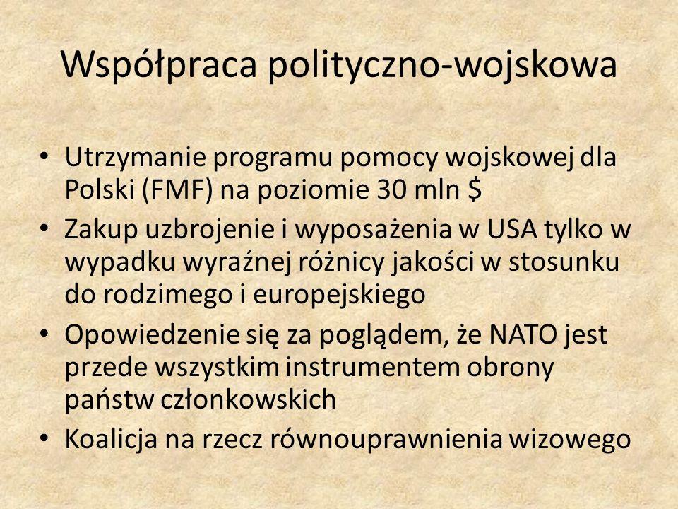 Współpraca polityczno-wojskowa