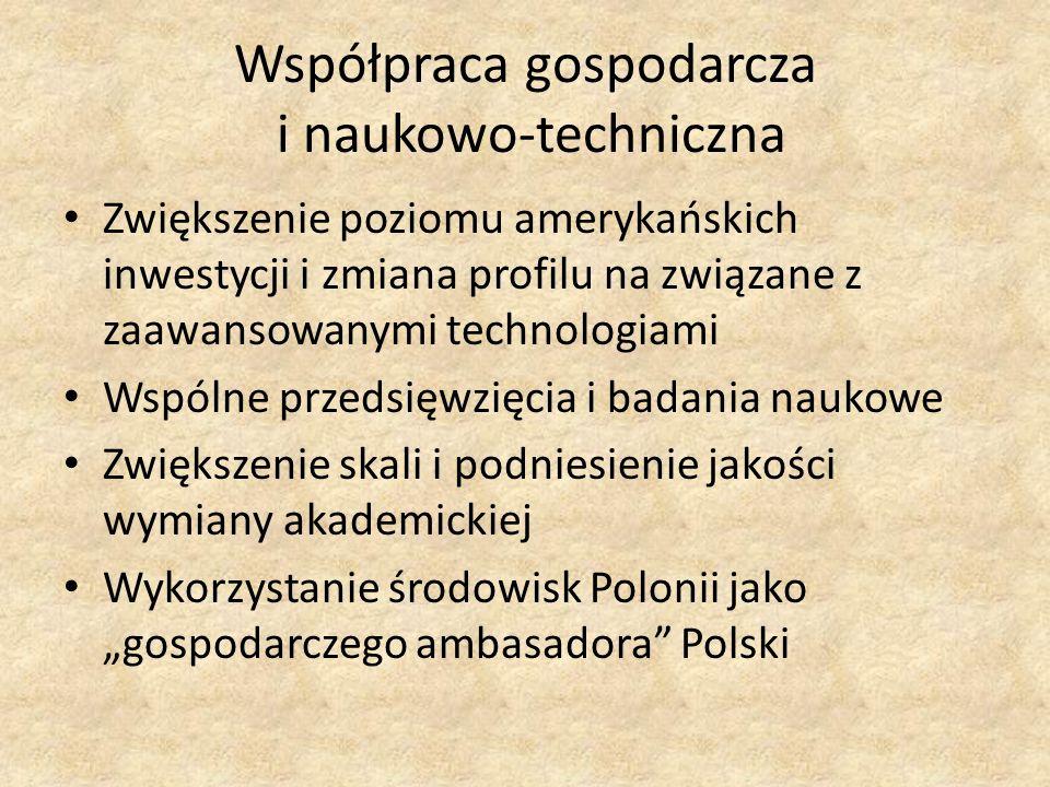 Współpraca gospodarcza i naukowo-techniczna