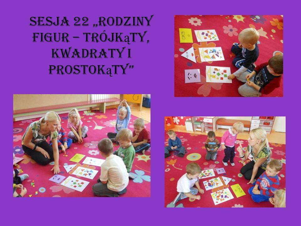 """Sesja 22 """"Rodziny figur – trójkąty, kwadraty i prostokąty"""