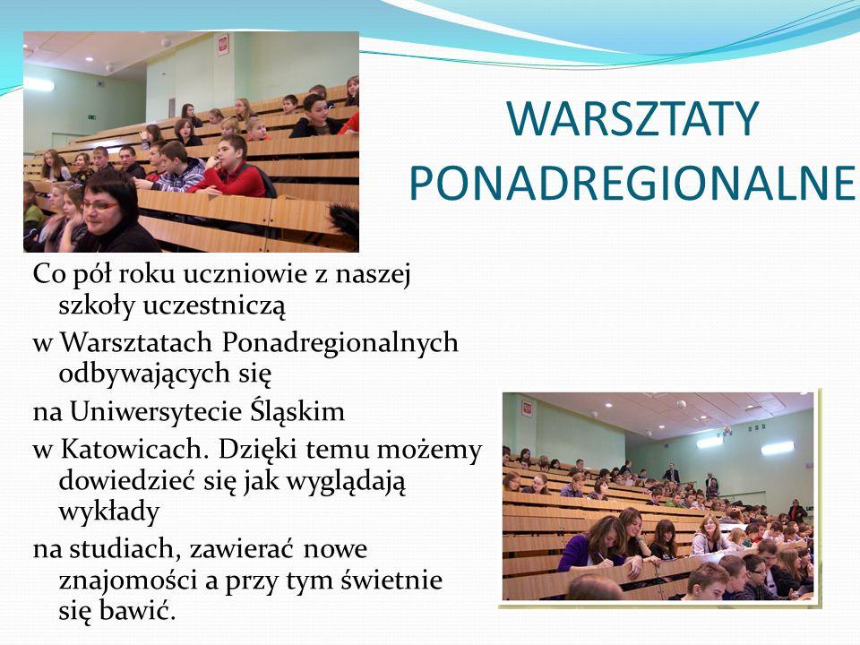 WARSZTATY PONADREGIONALNE