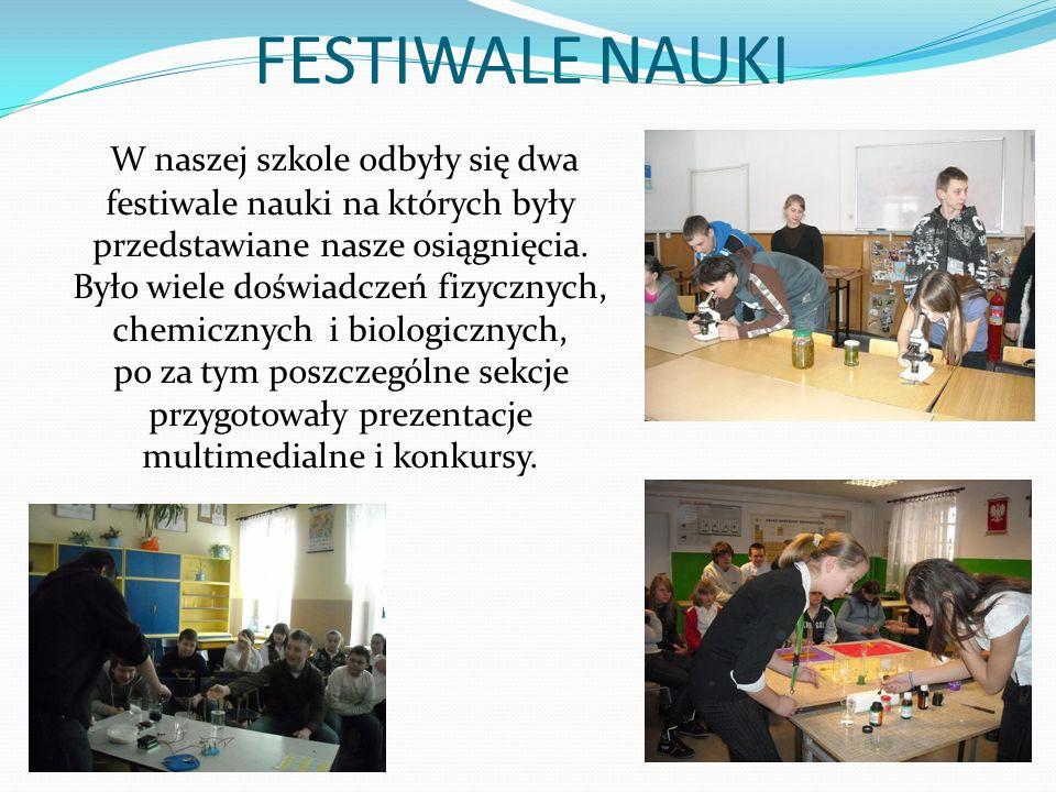 FESTIWALE NAUKI