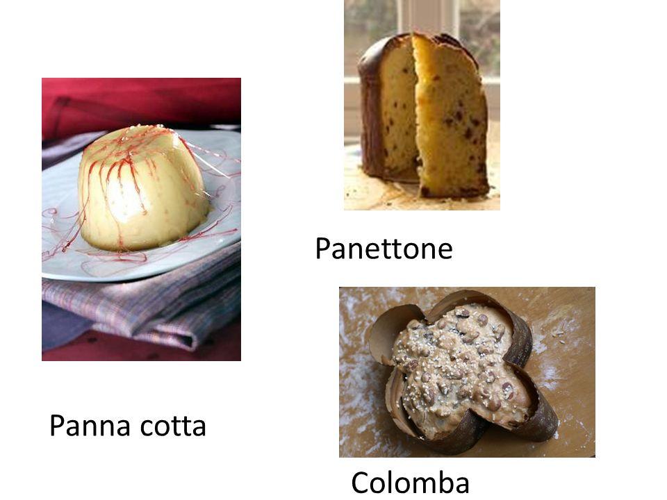Panettone Panna cotta Colomba