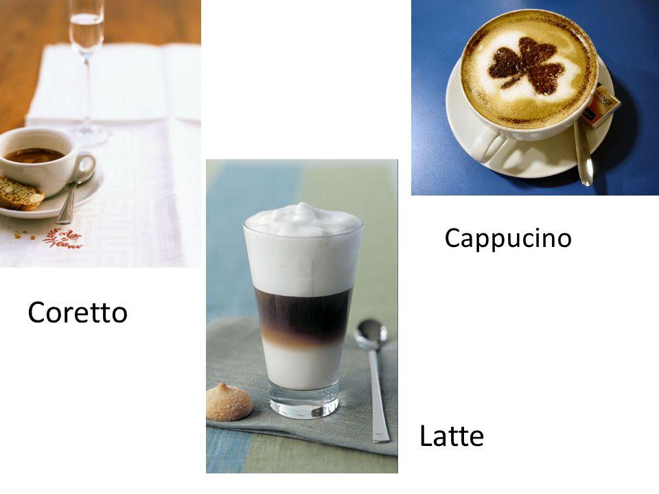 Cappucino Coretto Latte