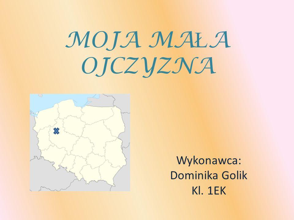 Wykonawca: Dominika Golik Kl. 1EK