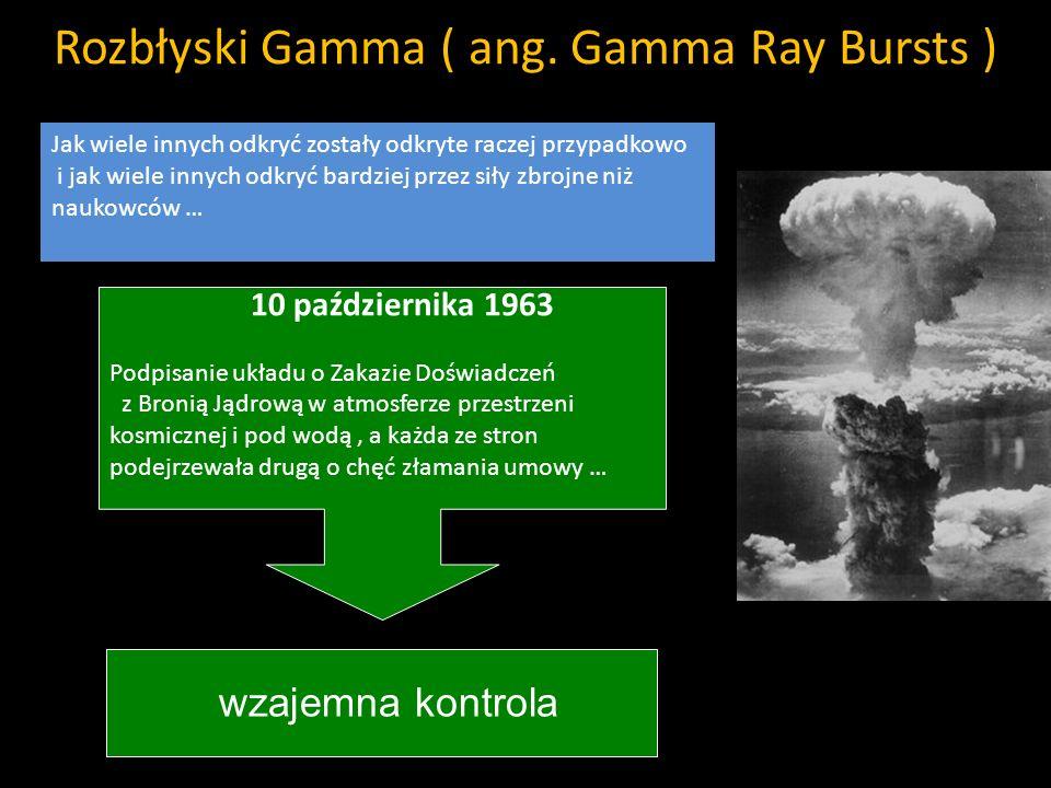 Rozbłyski Gamma ( ang. Gamma Ray Bursts )