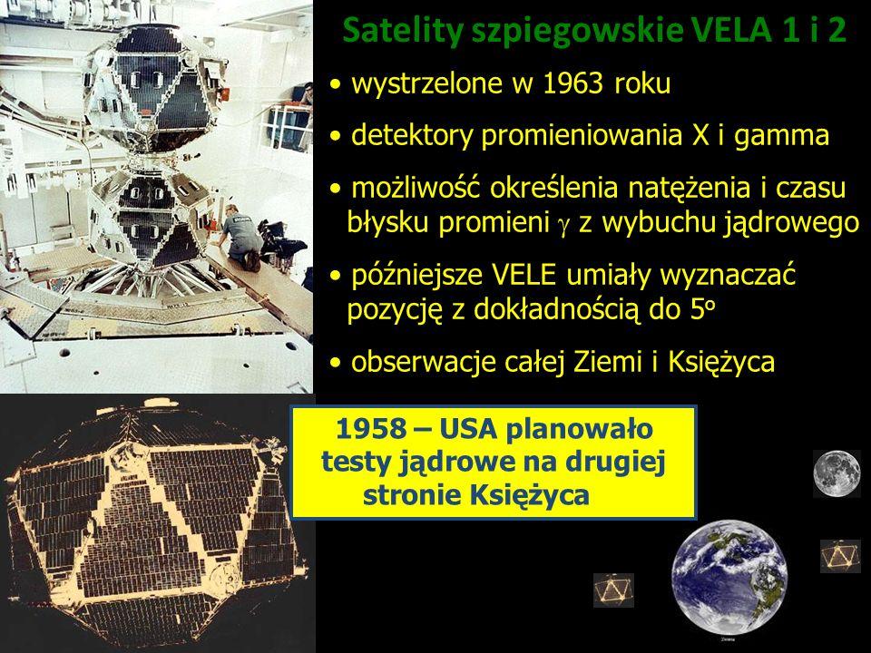 Satelity szpiegowskie VELA 1 i 2