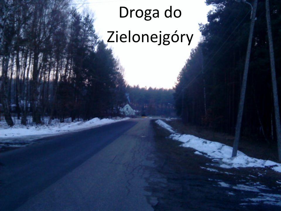 Droga do Zielonejgóry