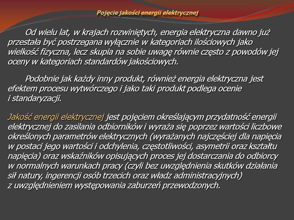 Pojęcie jakości energii elektrycznej