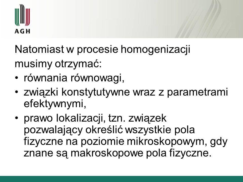 Natomiast w procesie homogenizacji