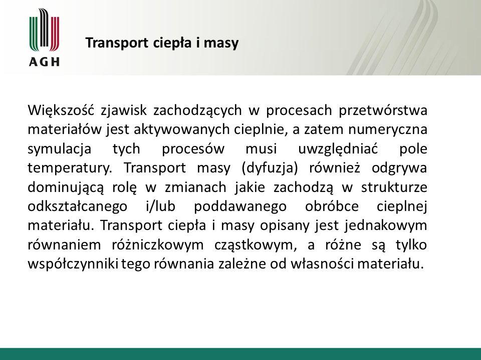 Transport ciepła i masy