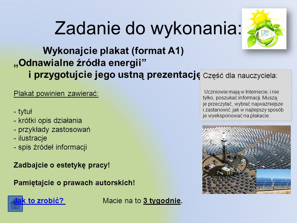 Wykonajcie plakat (format A1)