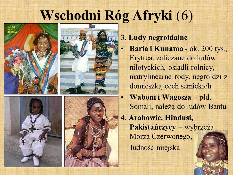 Wschodni Róg Afryki (6) 3. Ludy negroidalne