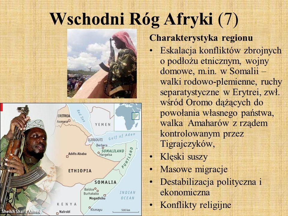 Wschodni Róg Afryki (7) Charakterystyka regionu