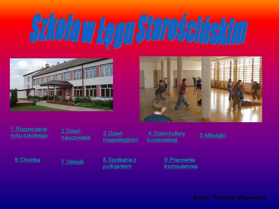 Szkoła w Łęgu Starościńskim