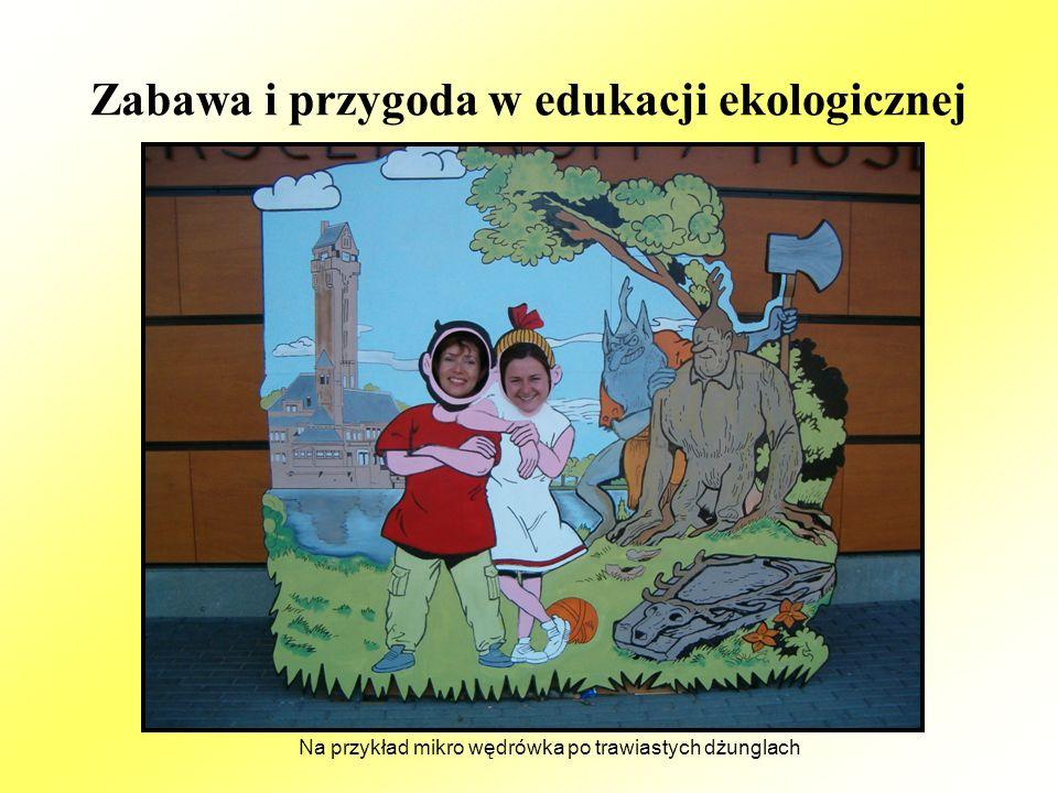 Zabawa i przygoda w edukacji ekologicznej