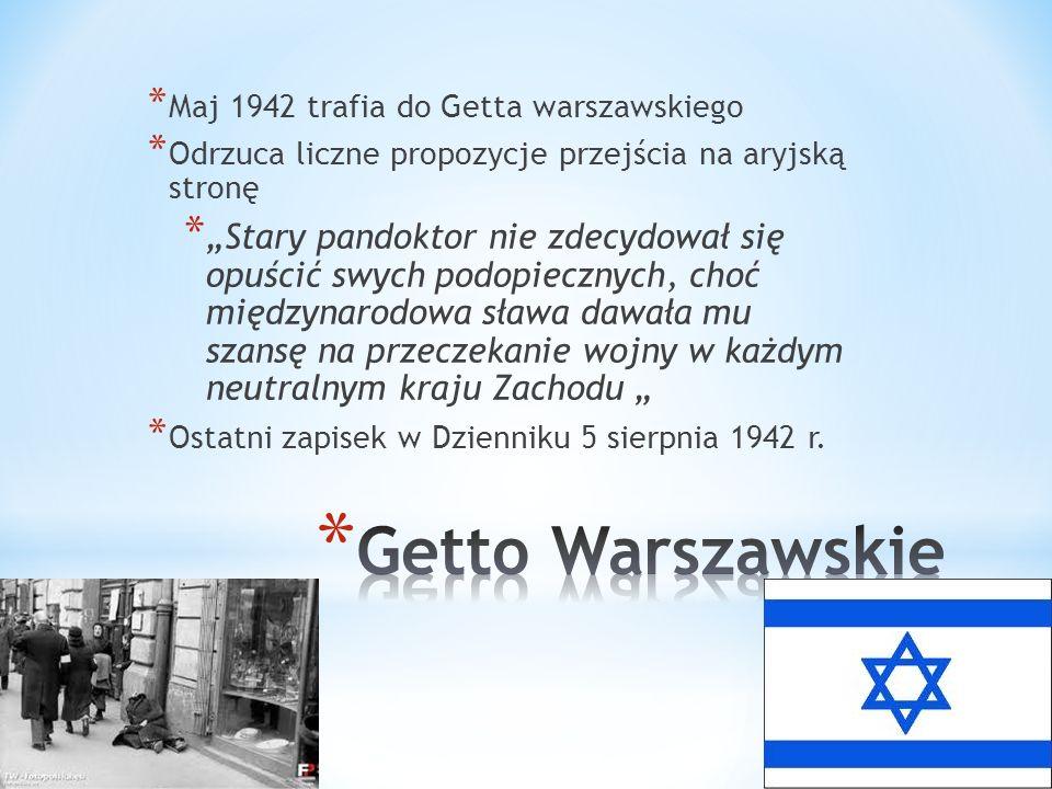 Maj 1942 trafia do Getta warszawskiego