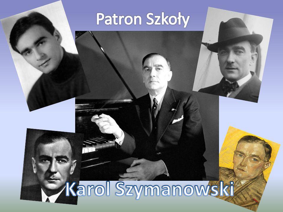 Patron Szkoły Karol Szymanowski