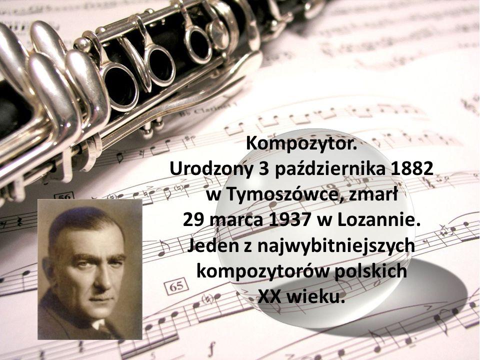 Urodzony 3 października 1882 w Tymoszówce, zmarł