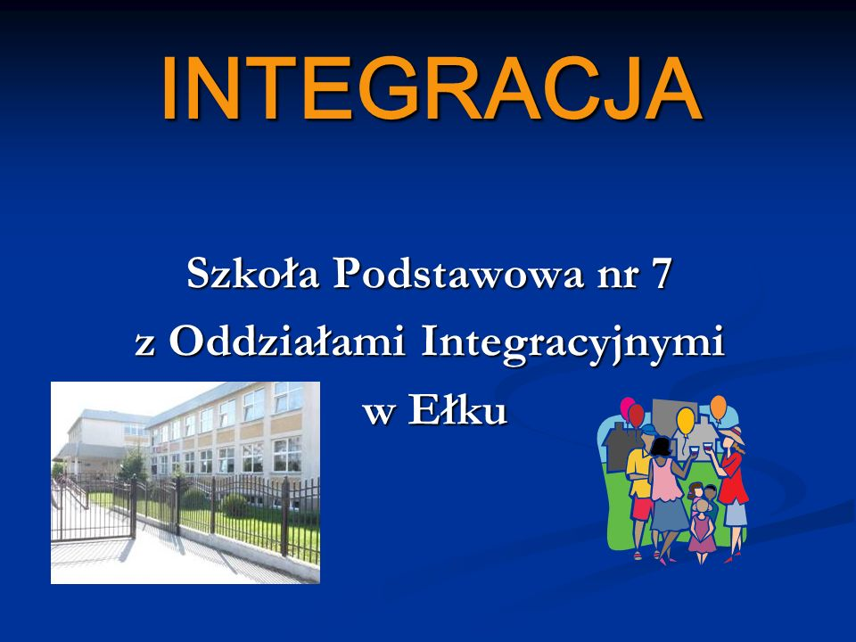 z Oddziałami Integracyjnymi