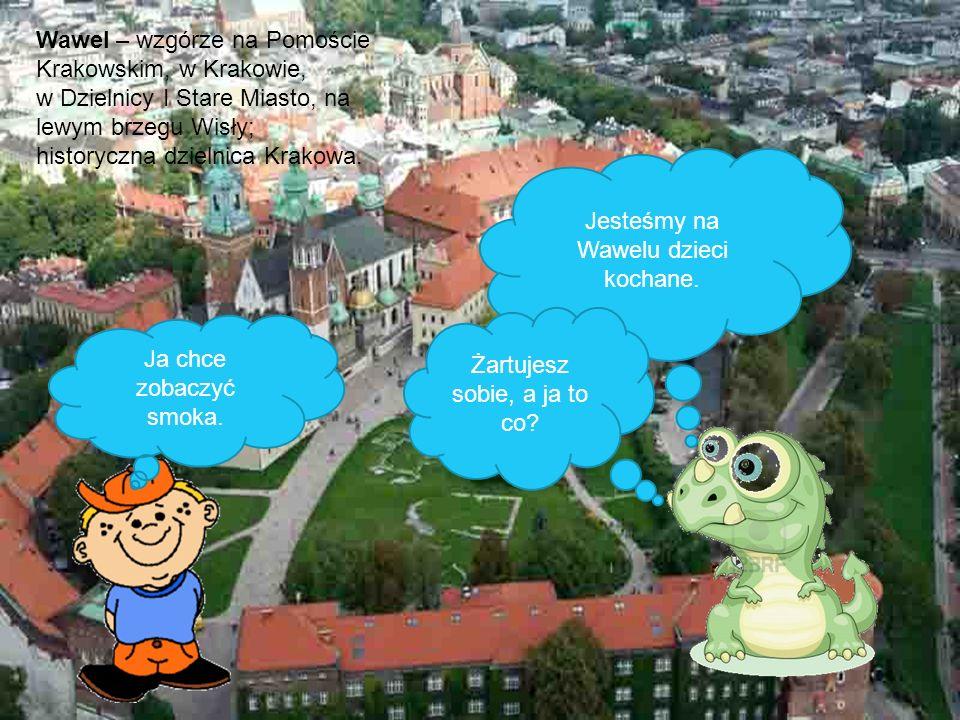 Jesteśmy na Wawelu dzieci kochane.