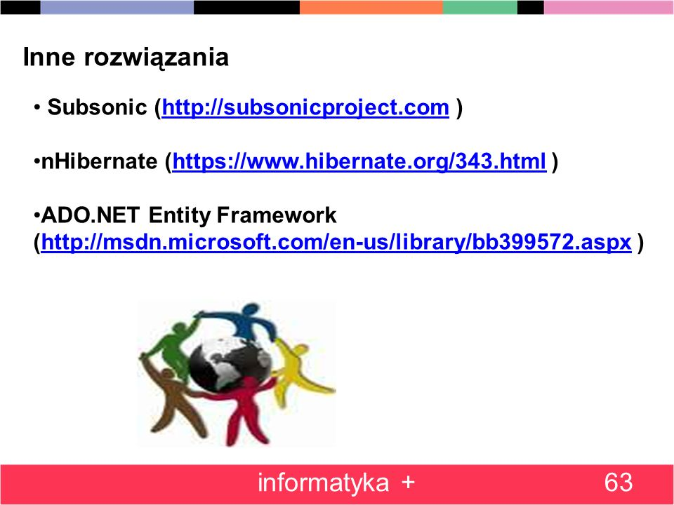 Inne rozwiązania informatyka + Subsonic (http://subsonicproject.com )