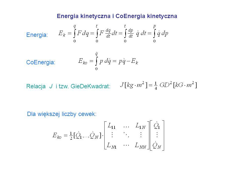 Energia kinetyczna i CoEnergia kinetyczna