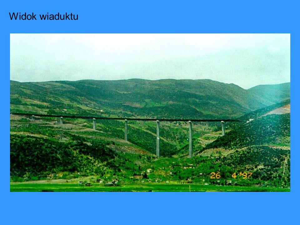 Widok wiaduktu