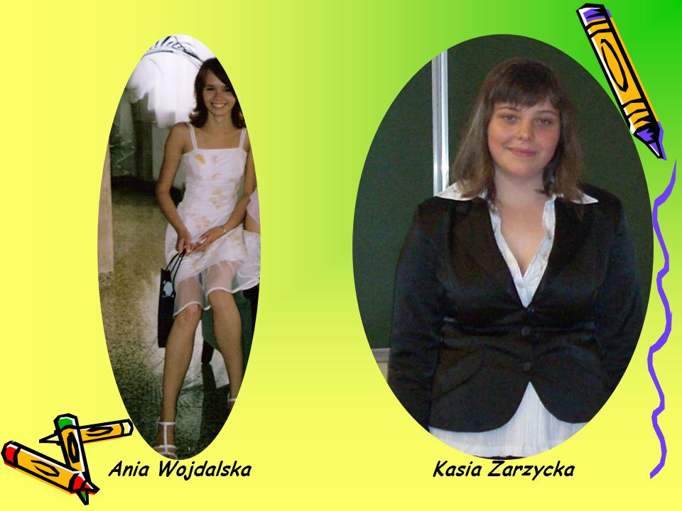 Ania Wojdalska Kasia Zarzycka