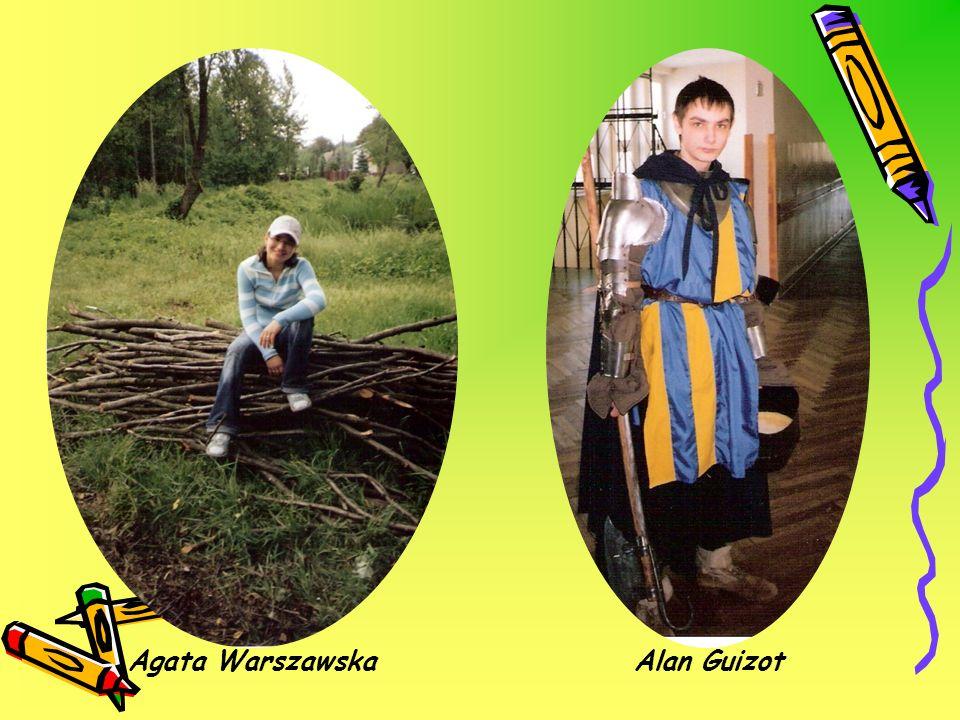 Agata Warszawska Alan Guizot