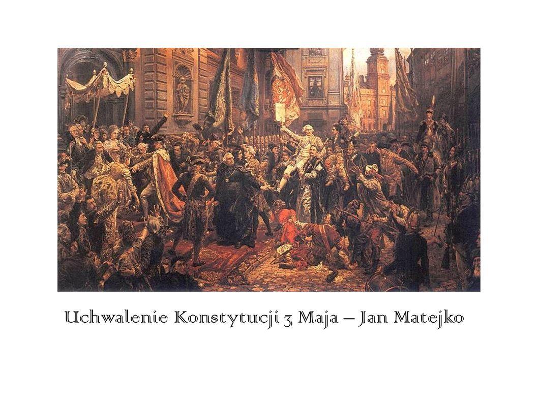 Uchwalenie Konstytucji 3 Maja – Jan Matejko