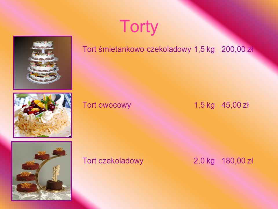 Torty Tort śmietankowo-czekoladowy 1,5 kg 200,00 zł
