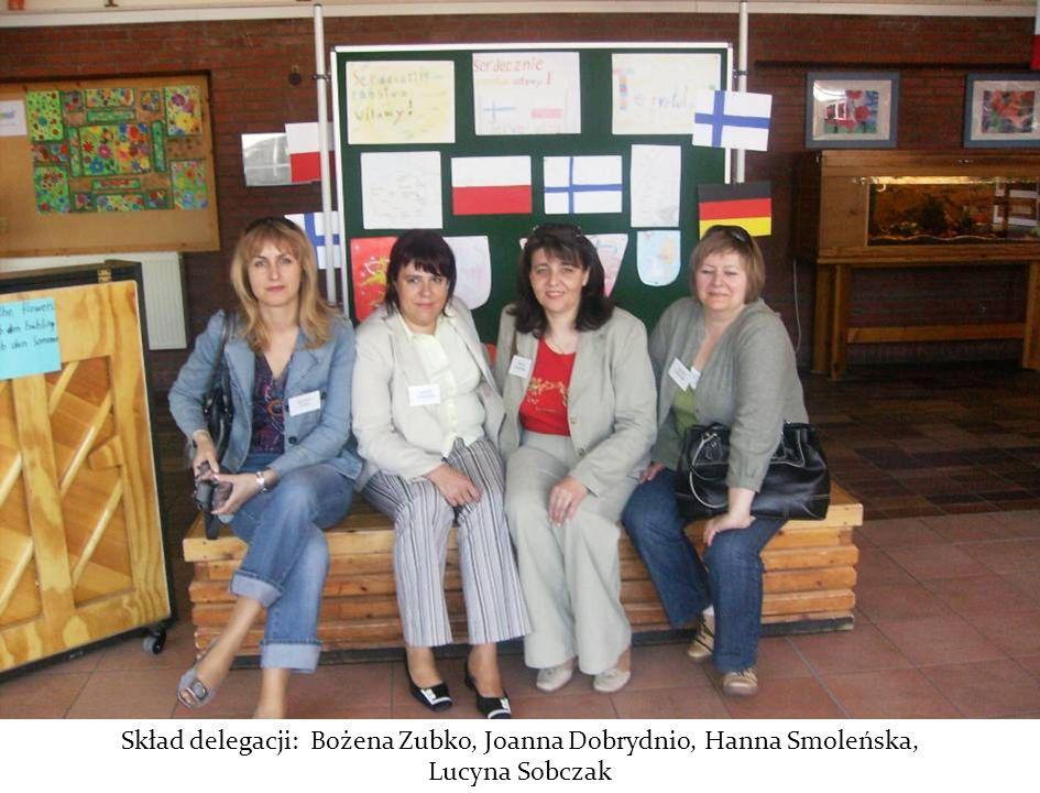 Skład delegacji: Bożena Zubko, Joanna Dobrydnio, Hanna Smoleńska,