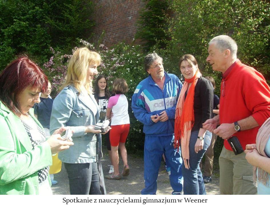 Spotkanie z nauczycielami gimnazjum w Weener