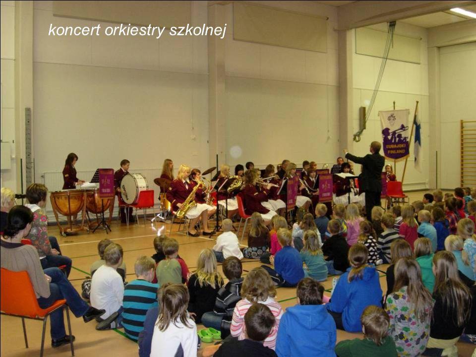 koncert orkiestry szkolnej