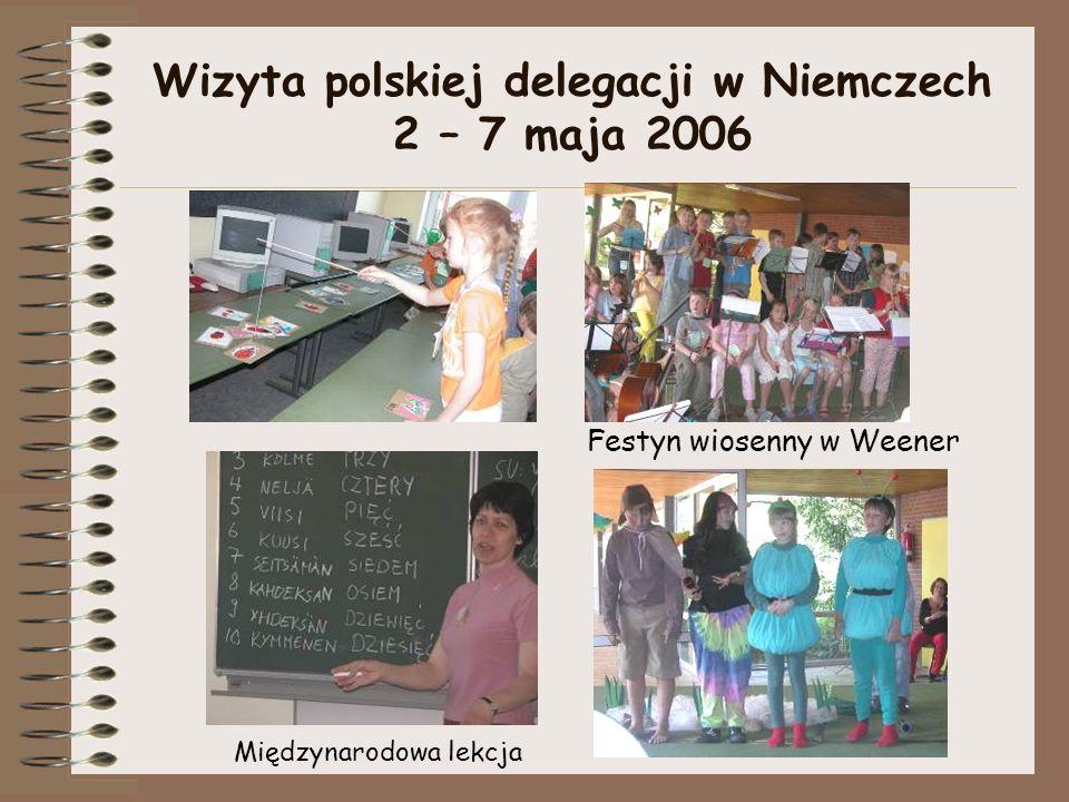 Wizyta polskiej delegacji w Niemczech 2 – 7 maja 2006