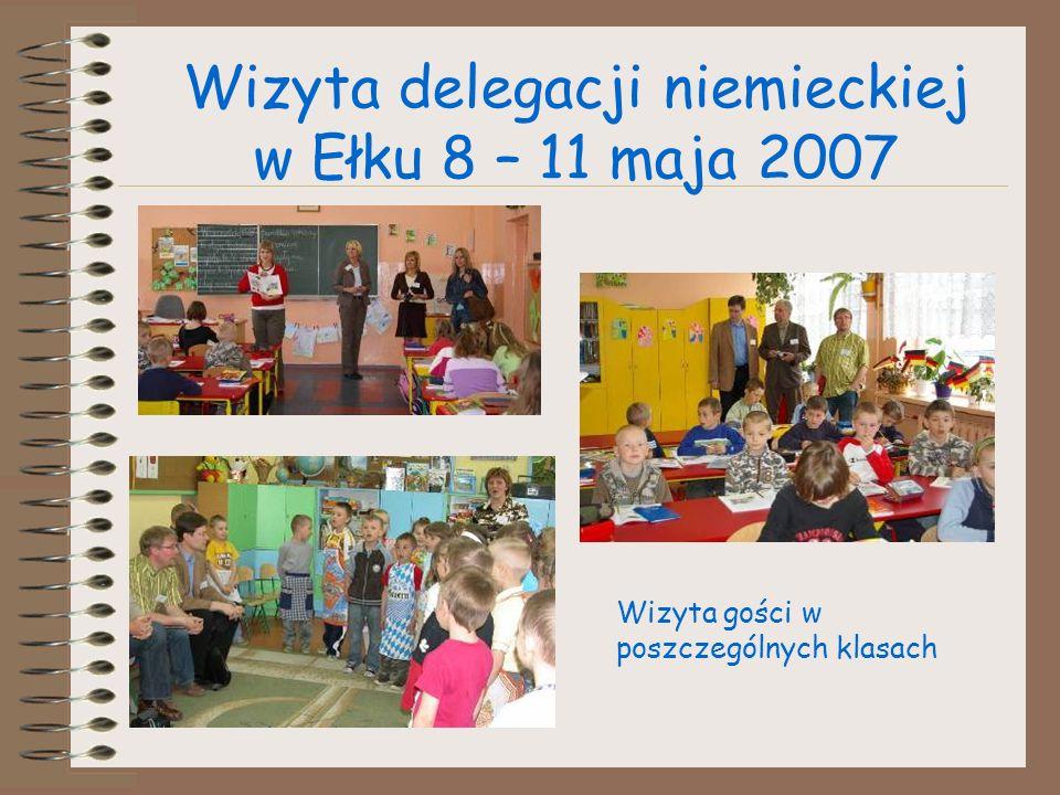 Wizyta delegacji niemieckiej w Ełku 8 – 11 maja 2007